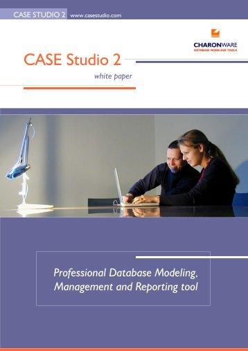 Database design tool - CASE Studio 2 - CHARONWARE s.r.o.