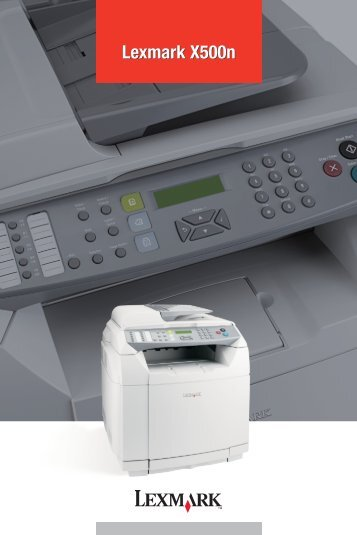 Lexmark X500n - Market Point