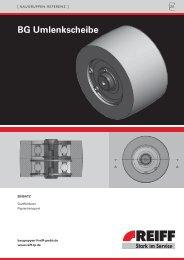 BG Umlenkscheibe - REIFF Technische Produkte