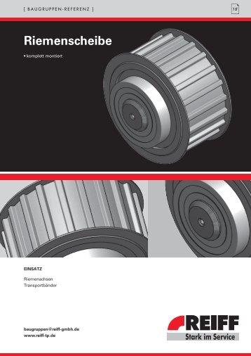 Riemenscheibe - REIFF Technische Produkte
