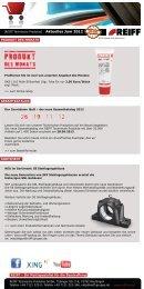 Newsletter Onlineshop Juni 2012 - PDF-Format - REIFF Technische ...