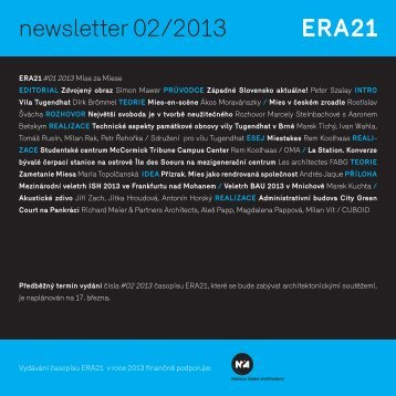 newsletter 02/2013 - Era21