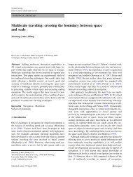 Multiscale traveling - of Dr. Xiaolong (Luke) Zhang