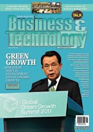 GreeN Growth - Asia-Pacific Business and Technology Report
