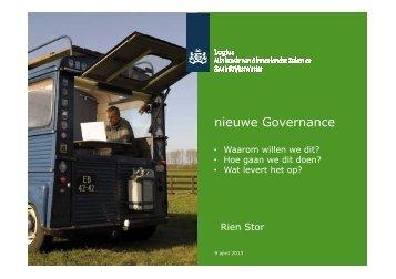 nieuwe Governance - Logius