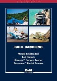 BULK HANDLING - Vermeulen Ingenieursbureau