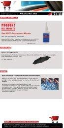 Das REIFF-Angebot des Monats - REIFF Technische Produkte