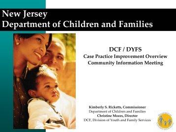 DCF/DYFS Case Practice Improvement Overview