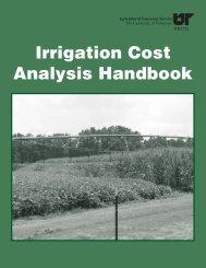 Irrigation Cost Analysis Handbook - NRCS Irrigation ToolBox Home ...