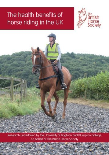 Health Benefits of Riding in the UK Report Summary