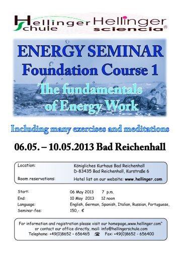 06.05. – 10.05.2013 Bad Reichenhall - Hellinger.com