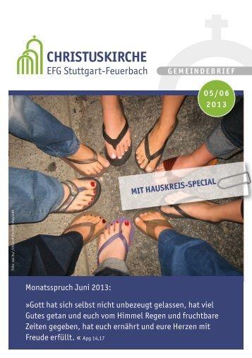 CHRISTUSKIRCHE - EFG Stuttgart-Feuerbach