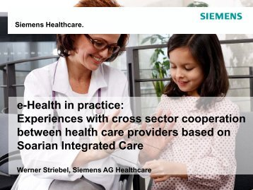 Experiences with cross sector cooperation between health care ...