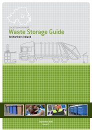 Waste Storage Guide for Northern Ireland - Belfast City Council