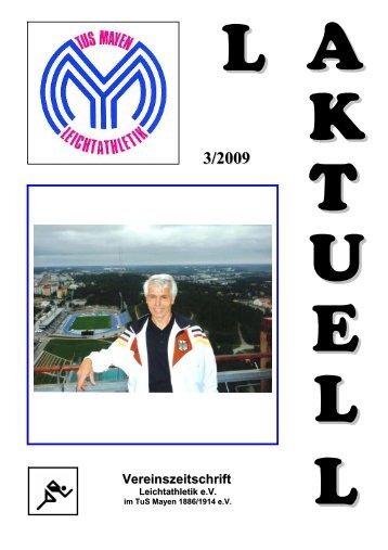 LA AKTUELL Vereinszeitschrift - Leichtathletik e.V. im TUS - Mayen ...