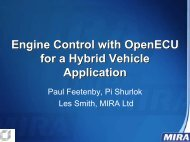 Engine Control with OpenECU for a Hybrid Vehicle Application ...