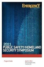 Public Safety/Homeland Security SymPoSium - Navigator