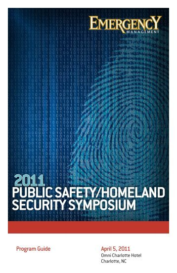 Public Safety/Homeland Security SymPoSium - Navigator