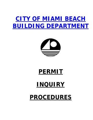 North Miami Beach Permit Application