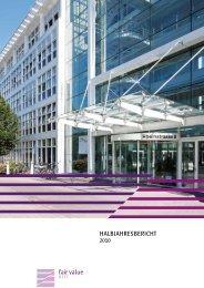 Halbjahresbericht 2010 - Fair Value REIT-AG