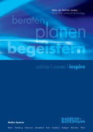 Unser Imagefolder - Gahrens + Battermann