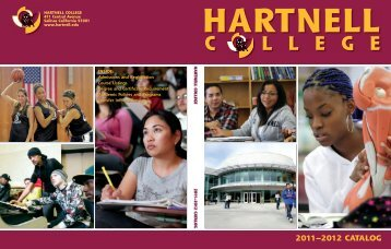 2011-2012 Hartnell College Catalog