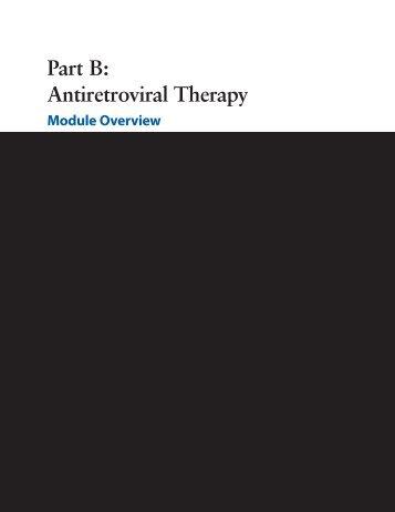 Antiretroviral Therapy - Family Health International