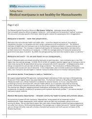 MAPA Medical Marijuana Talking Points v.5
