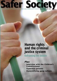 Human rights and the criminal justice system - Nacro