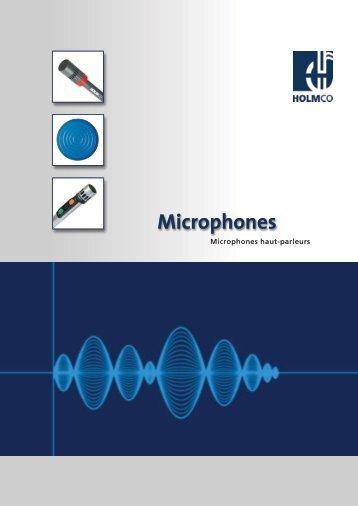 Microphones - HOLMCO