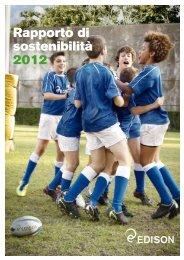 Rapporto di sostenibilità 2012 - Edison