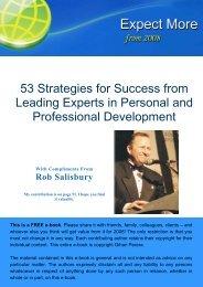 FREE 2008 e book - Strategicresources.com.au