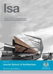 LSA Magazine Issue 2 (PDF) - University of Lincoln