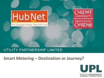 Smart Meters - Destination or Journey?