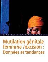 Mutilation génitale féminine /excision : Données et tendances