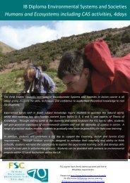 READ MORE! - Field Studies Council