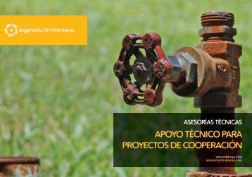 apoyo técnico para proyectos de cooperación - ISF - Ingeniería Sin ...