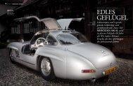 Der Mercedes 300 sL wird in diesem Frühjahr 60 Jahre alt. Wir ...