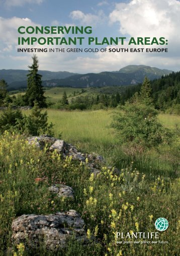 CONSERVING IMPORTANT PLANT AREAS: