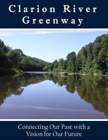 Clarion River Greenway Plan - Western Pennsylvania Conservancy