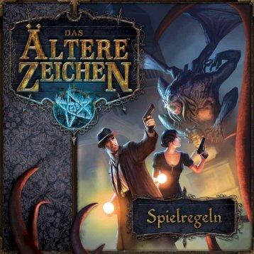 Das Ältere Zeichen Spielregel deutsch - Heidelberger Spieleverlag