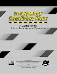Emergency Readiness Plan - National Food Service Management ...