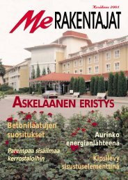 Me Rakentajat 2/01 pdf - Rakentaja.fi