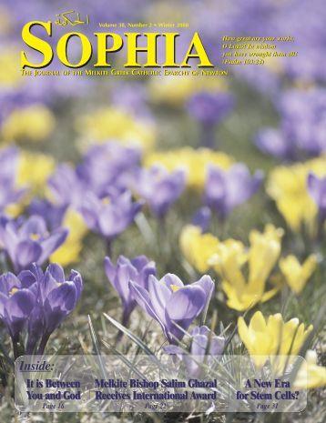 Sophia - Melkite Eparchy of Newton