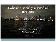Cohesión social y seguridad ciudadana - Cieplan