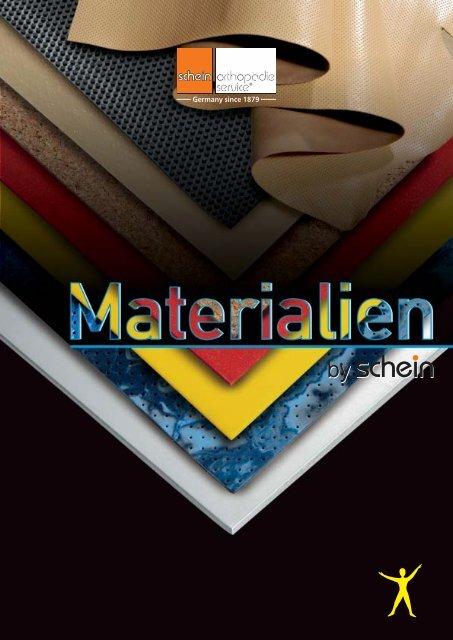 Polstermaterialien / Padding Materials - Schein