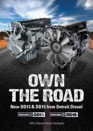 New DD13 & DD15 from Detroit Diesel - MTU Detroit Diesel Australia