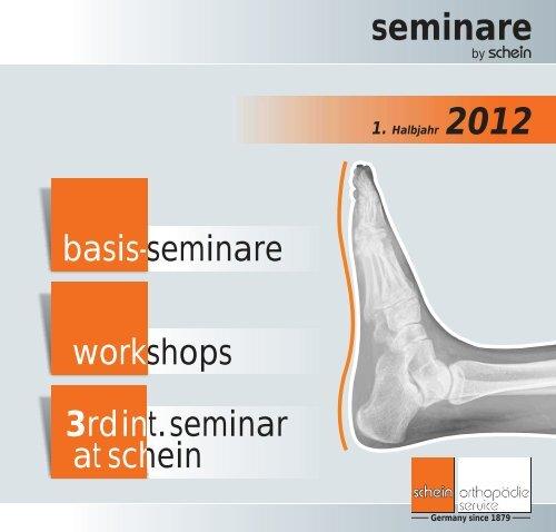 Seminarunterlagen 1. Halbjahr 2012 - Schein