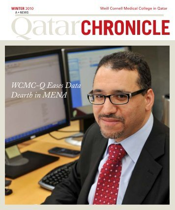 WCMC-Q Eases Data Dearth in MENA - Weill Cornell Medical ...