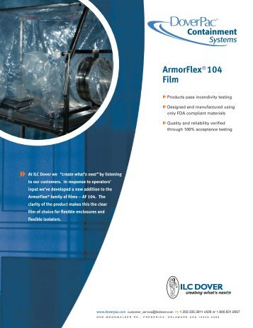 ArmorFlex® 104 Film - Team-Logic
